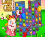 Candy Crush Saga niveau 70 sur Facebook