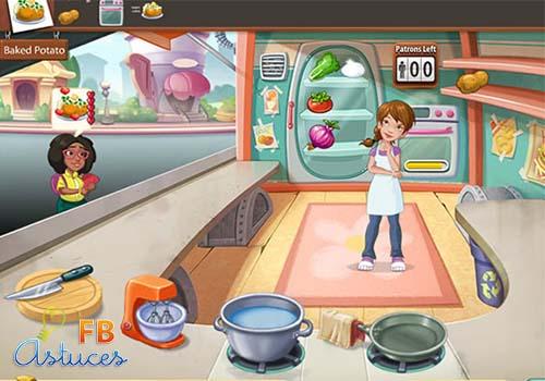 ... Scramble sur Facebook Guide et astuces Kitchen Scramble sur Facebook