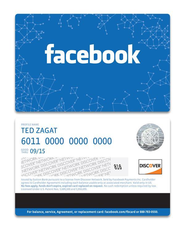 Facebook carte cadeaux