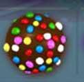 bonbon multicolore fb