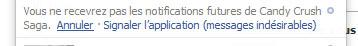 désactiver notification jeux