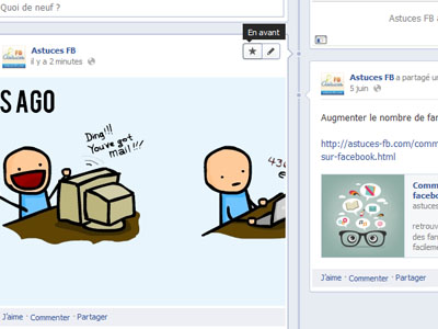 personnaliser facebook