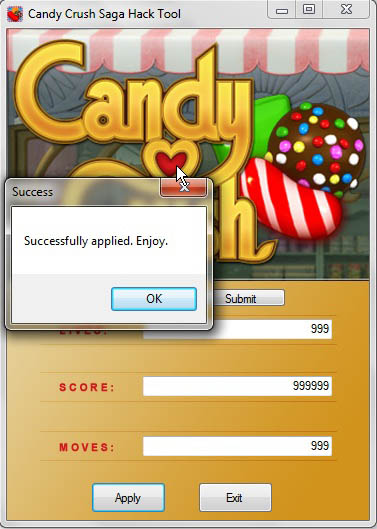 Candy Crush Facebook Hack