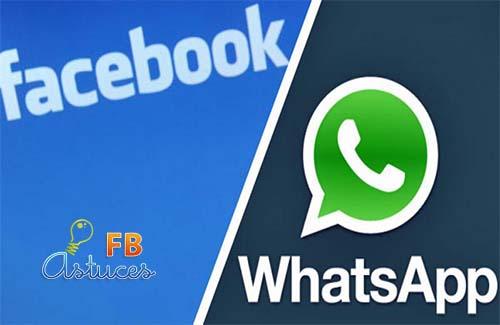 rachat whatsApp par FB