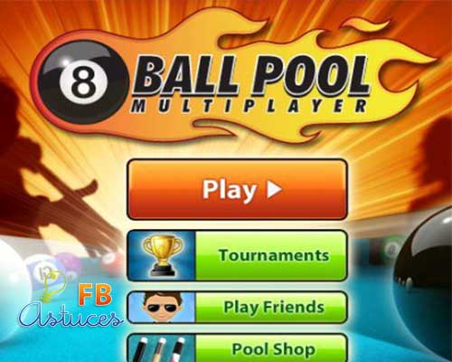 8 ball pool sur facebook