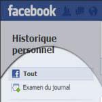 Comment supprimer l'historique Facebook de mon compte?