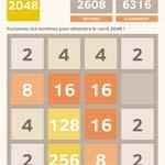 jeu 2048 sur fb