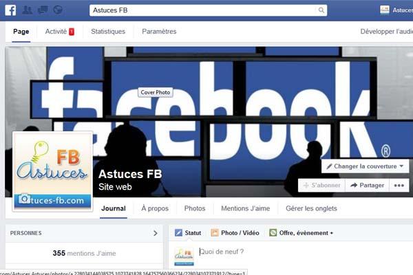 supprimer page fan facebook