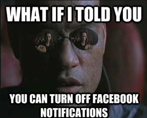 effacer notifications Facebook mobile