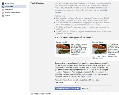 bloquer ads facebook