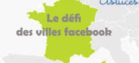Le défi des villes Facebook