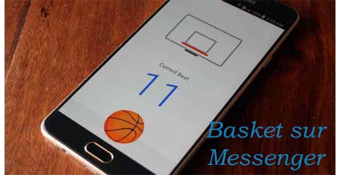 mini jeu de basket